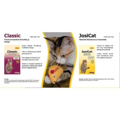 Kassitoit Josera Classic 4 kg
