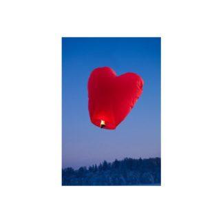Taevalatern punane süda