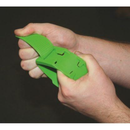 Märkmelint jalale plastikust roheline