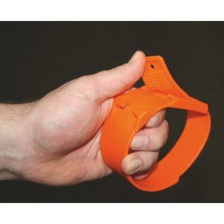 Märkmelint jalale plastikust oranz
