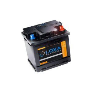 Starteraku Loxa 12V 60Ah 510A -+