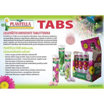 Toalilleväetis õitsvatele taimedele 20 tabletti