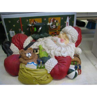 Kuusejalg jõuluvana keraamiline