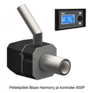 Pelletipõleti Blaze Harmony 6...26 kW kontrolleriga