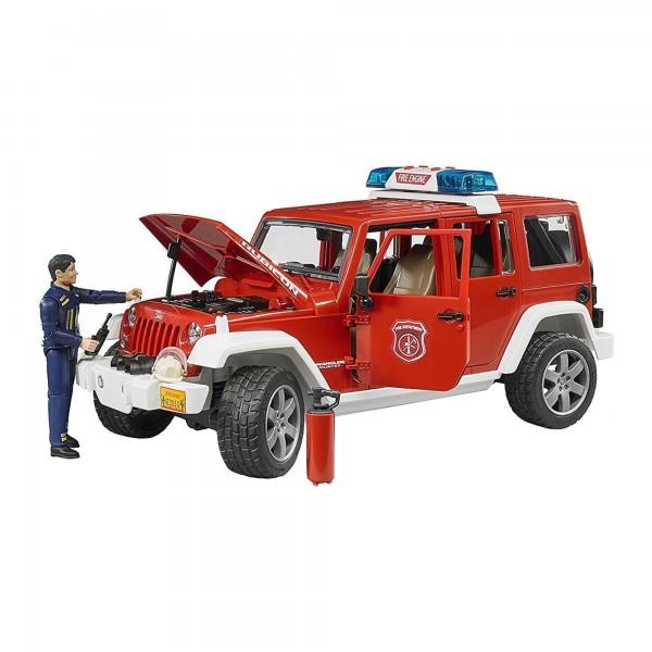 Bruder Jeep Wrangler tuletõrje heli ja valgusega+figuur