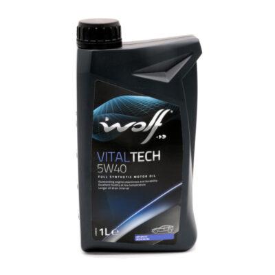 Mootoriõli Wolf Vitaltech 5W-40 1L