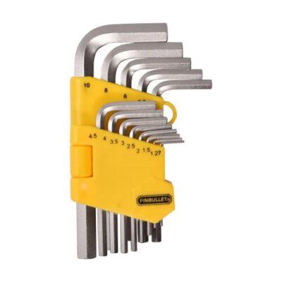 Kuuskantvõtmete komplekt Truper 13 osa, 1,27-10mm