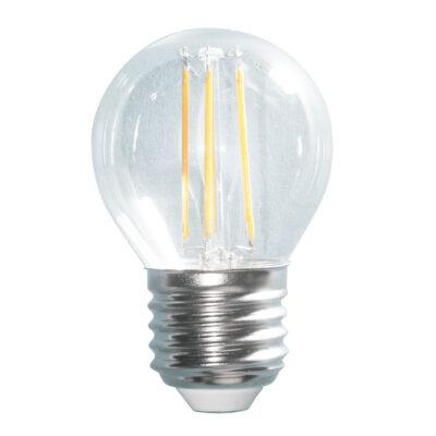 LED filament G45 4W E27 420lm