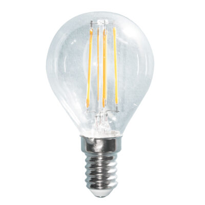 LED filament G45 4W E14 420lm