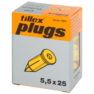 Naela tüübel kollane 20 tk pakendis Tillex