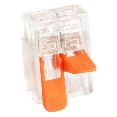 Kiirklemm MINI avatav 2×0,2-4mm, 5tk pakendis