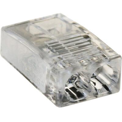 Kiirklemm mini 2-le juhtmele 1,0-2,5mm², 10 tk pakendis