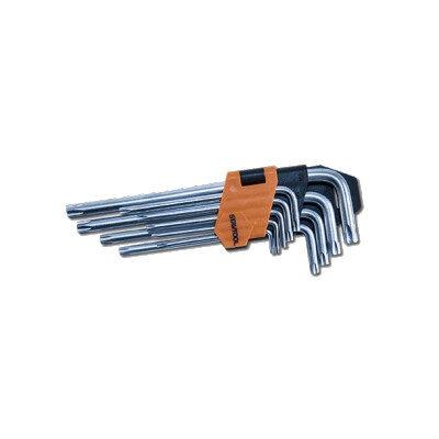 TORX-võtmete komplekt STAVTOOL T10-T50