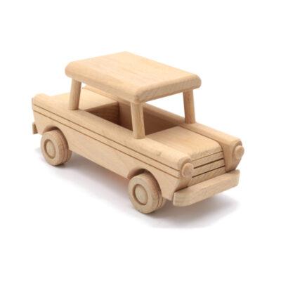 Mänguasi sõiduk puidust