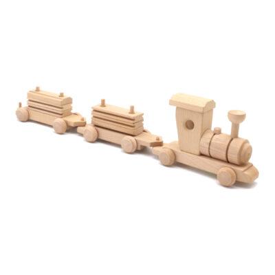 Mänguasi rong puidust