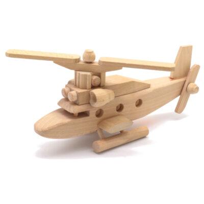 Mänguasi helikopter puidust