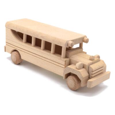 Mänguasi buss puidust