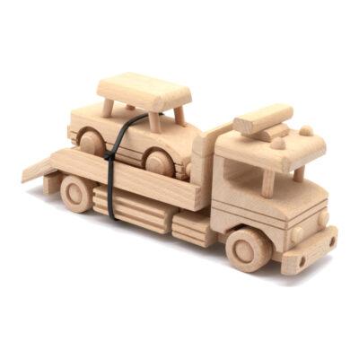 Mänguasi treiler puidust