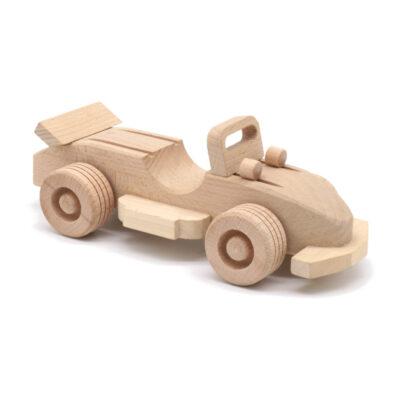 Mänguasi ralliauto puidust
