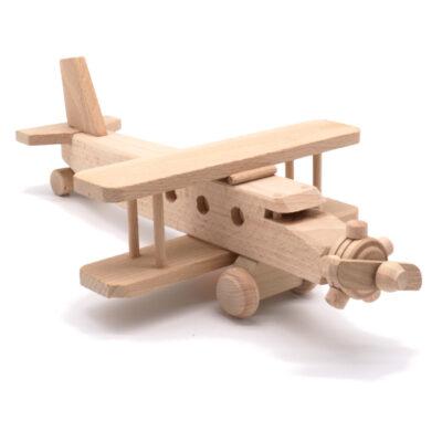 Puidust mänguasi lennuk II