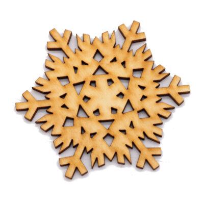 Lumehelves puidust
