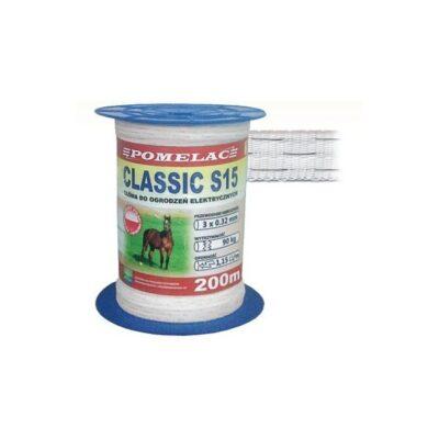 Elektrikarjuse lint CLASSIC S-15 200m 105-030-010