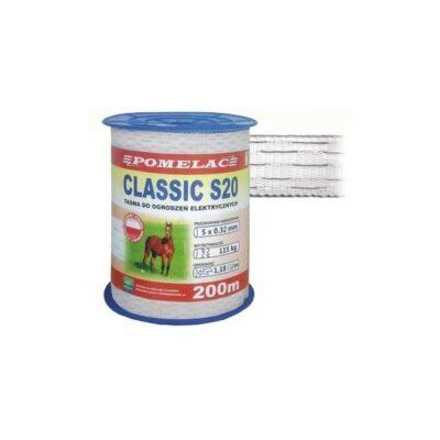 Elektrikarjuse lint CLASSIC S-20 200m 105-030-011
