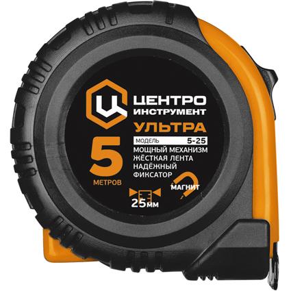 Mõõdulint 10m x 25mm magnet Centro Ultra