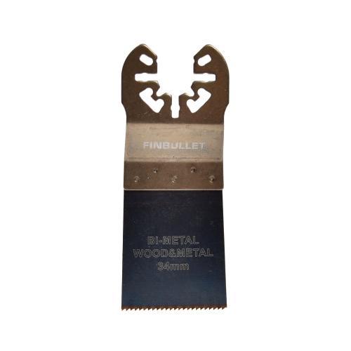 Multisaetera HSS Bi-M WOOD/METAL 34mm, puit/metall