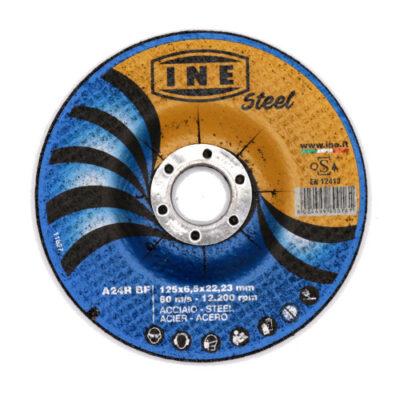 Lihvketas INE Steel A24R125x6,5mm***