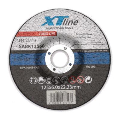 Lihvketas XTline 125x6,0x22,2 metallile