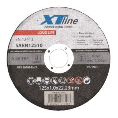 Lõikeketas XTline 125x1,0x22mm INOX