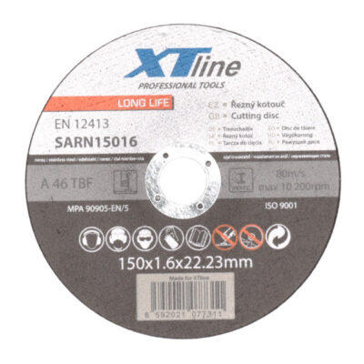 Lõikeketas XTline 150x1,6x22mm INOX