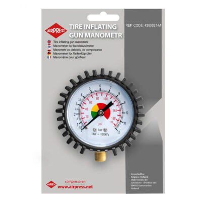 "Manomeeter rehvirõhumanomeetrile 1/4"", max 12bar"