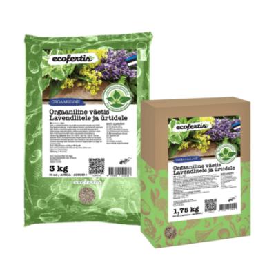 Orgaaniline väetis lavendlitele ja ürtidele 7.5kg