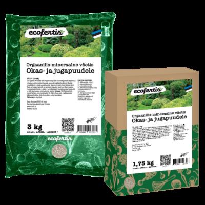 Orgaanilis - mineraalne väetis okas- ja jugapuudele 7.5kg