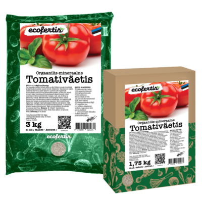 Orgaanilis - mineraalne tomativäetis 7.5kg