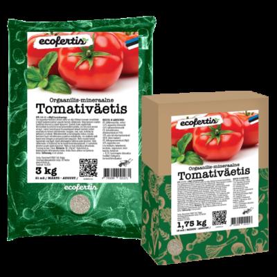 Orgaanilis - mineraalne tomativäetis 1.75kg