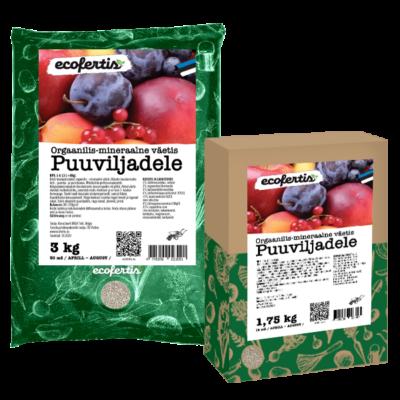 Orgaanilis-mineraalne väetis puuviljadele 7.5kg