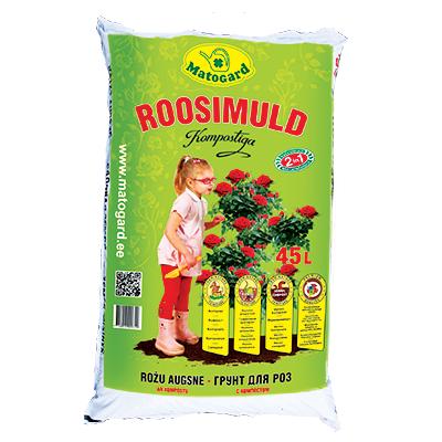 Roosimuld kompostiga 45L