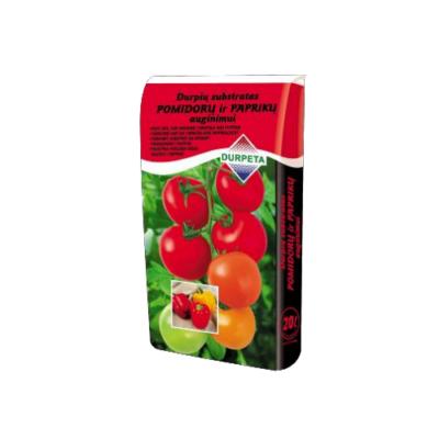 Turba substraat tomatitele ja paprikatele 20l