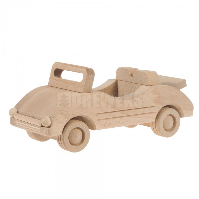 Mänguasi kabriolet puidust