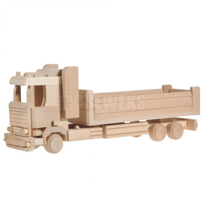 Mänguasi veoauto Tir Maxi puidust