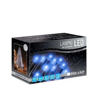 LED jõulutuled 10m 100LED sinine vilkuv jätkatav sise