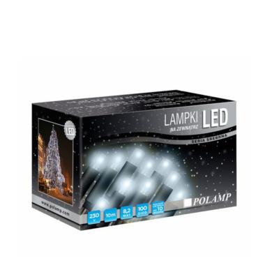 LED jõulutuled 10m 100LED valge vilkuv külm  jätkatav sise