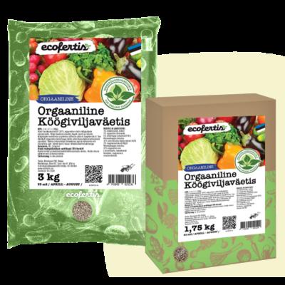Orgaaniline köögiviljaväetis 1kg