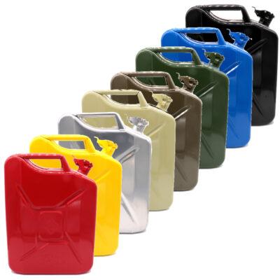 Bensiinikanister erinevad värvid 20 L