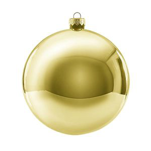 Jõulukaunistus kuul 12cm kuld